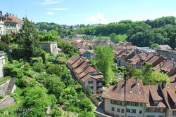 Svájc szép fekvésű fővárosa, Bern