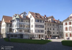St. Gallen favázas házai