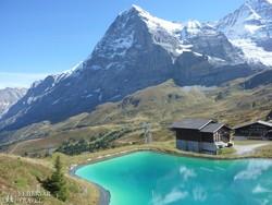 tengerszem a Jungfrau környékén