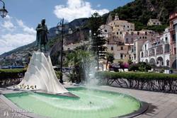 Amalfi: a Flavio Gioia tér