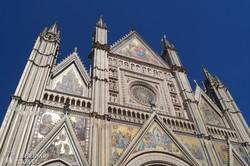 Orvieto dómjának homlokzata