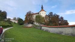 a várdomb Škofja Lokában