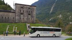 I. világháborús erődítmény az Isonzo völgye közelében