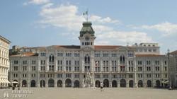 a Monarchia idején épült trieszti városháza