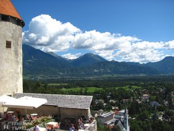 panoráma Bled várából