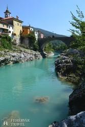 olaszos település az Isonzo völgyében