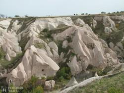Kappadókia – a sziklába vájt barlanglakások