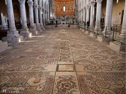 Aquileia: az ókeresztény bazilika híres mozaikpadlója