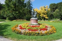 Baden egyik szép parkja