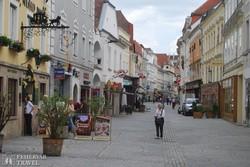Krems egy hangulatos sétálóutcája