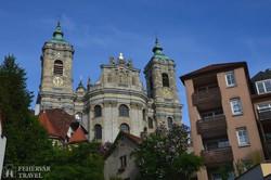 Németország legnagyobb barokk korban épített temploma Weingartenben