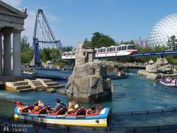 kalandos szórakozás az Európa-parkban