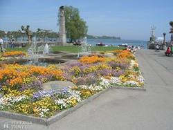 a Boden-tó partján fekvő Konstanz