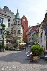 Meersburg hangulatos óvárosa – részlet