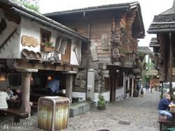a svájci falu az Európa-parkban – részlet
