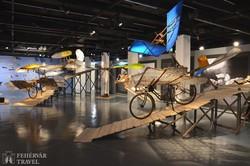 a Zeppelin léghajómúzeum Friedrichshafenben