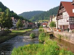 Schiltach, a Fekete-erdő egyik legszebb városkája
