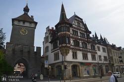 részlet Konstanz történelmi óvárosából