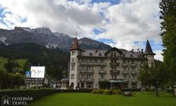 Cortina d'Ampezzo, a Dolomitok lábainál