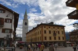 Cortina d'Ampezzo, a Dolomitok fővárosa