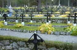 I. világháborús katonatemető Toblach mellett