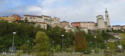 Belluno óvárosa a Pieve partjáról