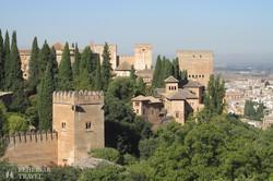 Granada: az Alhambra palota