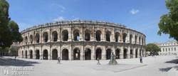 a római kori aréna Nîmes-ben