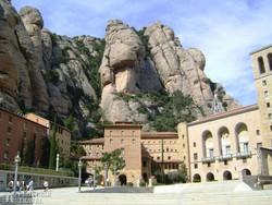 a montserrati bencés kolostor – részlet
