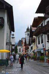 sétálóutca St. Wolfgang faluban