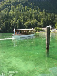 hajózás a kristálytiszta vizű Königssee-n