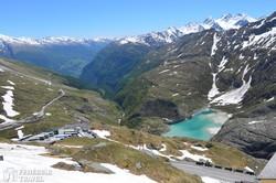 gyönyörű panoráma útban a Grossglockner felé