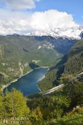 a Dachstein lábainál fekvő Gosau-tó