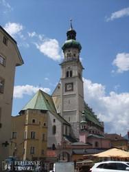 a Szent Miklós templom Hall in Tirolban
