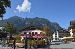 Garmisch-Partenkirchen-i utcarészlet