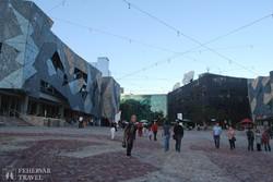 Melbourne – a XXII. századot idéző Federation tér