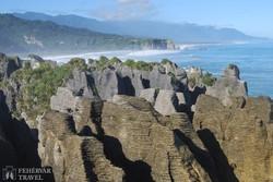 Punakaiki – a Palacsinta-sziklák – részlet