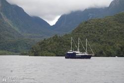 hajózás a Doubtful Soundon
