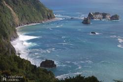 utazás a Tasman-tenger partjai mentén