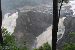 a Barron folyó 260 méter magas vízesése (részlet)