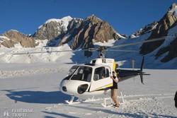 helikopterrel a legmagasabb csúcsok közelében