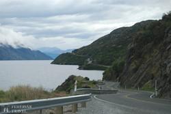 panorámaút a Wakatipu-tó partján
