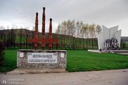 az 1848-as székely nemzetgyűlés emlékműve Agyagfalván