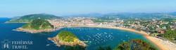 San Sebastian – a híres Kagyló-öböl