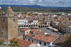 Trujillo főtere, a Plaza Mayor – részlet