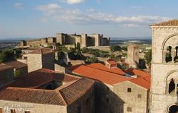a középkori mór várkastély Trujillóban