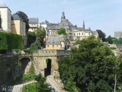 luxemburgi városrészlet