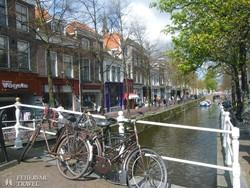 """tipikus amszterdami """"utcakép"""""""