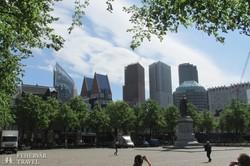 Hága modern városnegyede