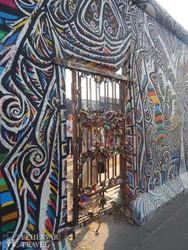 a berlini fal egy részlete